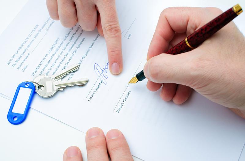 contrato alquiler pisos