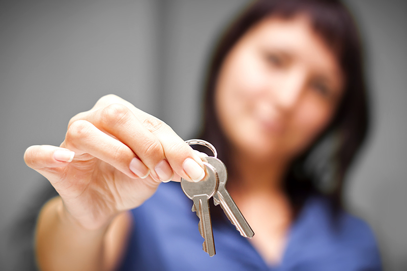 dar llaves piso alquiler