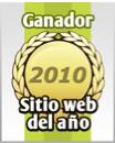 Sitio Web del Año 2010