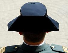 Tricornio Guardia Civil
