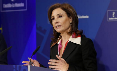 Marta García de la Calzada, consejera de Fomento del Gobierno regional