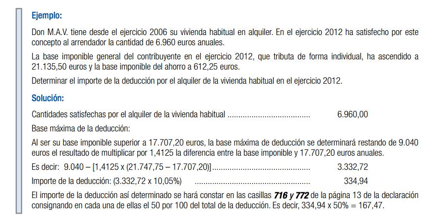 Gu a de la declaraci n de la renta 2012 inquilinos - Ejemplo certificado energetico piso ...