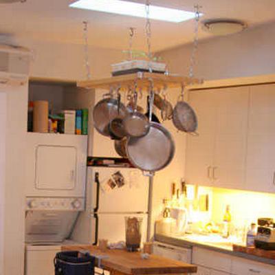 Ideas para ahorrar espacio en casa for Techo cocina
