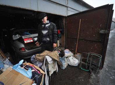 Alquiler de Garajes en Moscú