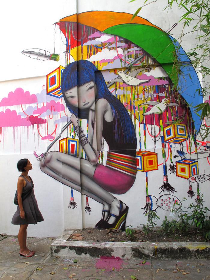 Street Art Utopia - Street Art by Seth