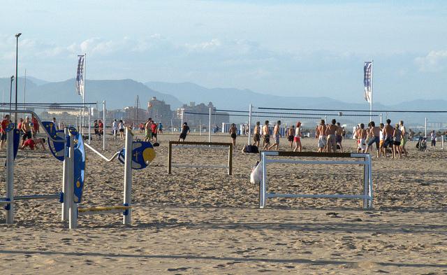 Playa de la Malva-rosa en Valencia por kismihok - Creative Commons