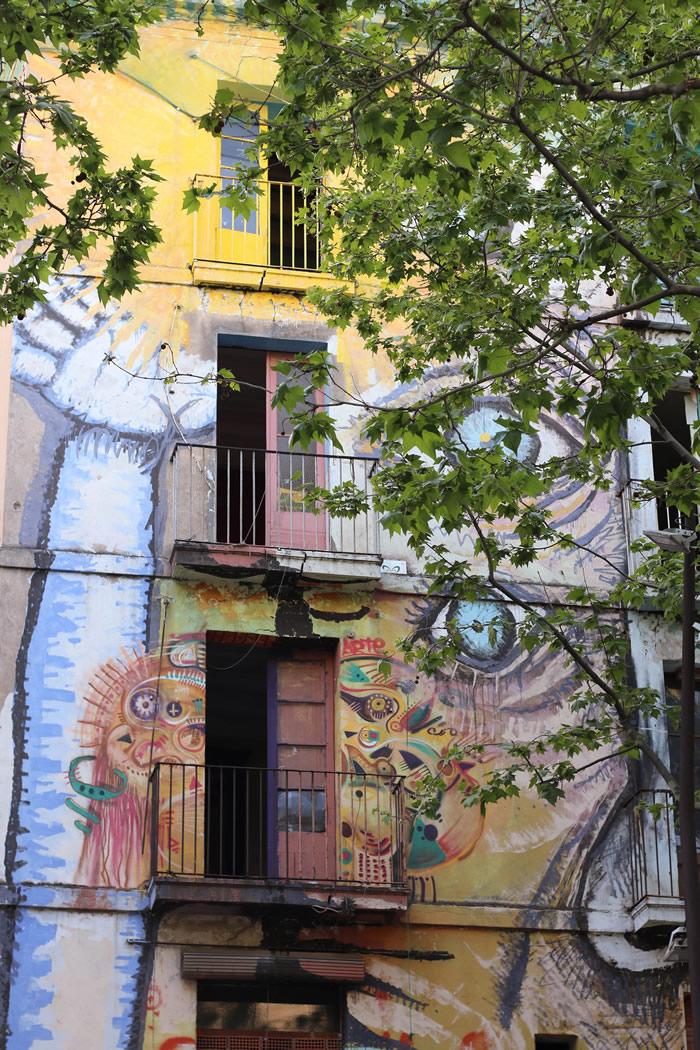 Grafitti en Fachada por Aina Lluna