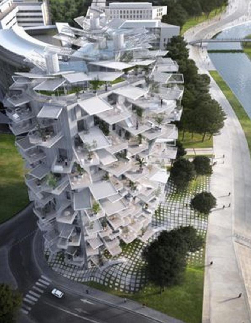El edificio-árbol francés