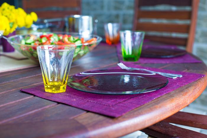 Cenas con amigos en las terrazas