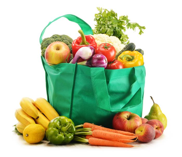 Cesta Fruta y Verdura