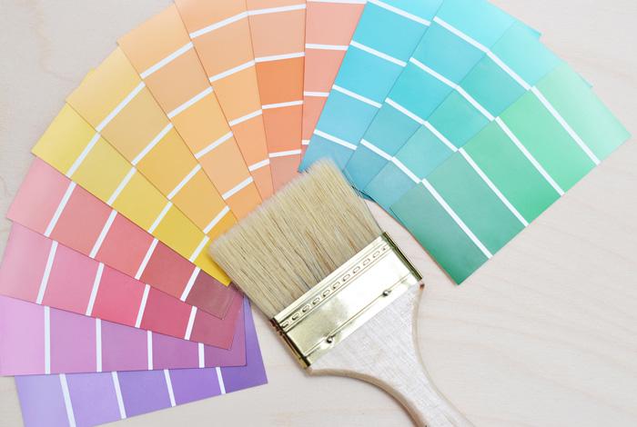 Pintar el piso en verano, con todo abierto, siempre es mejor