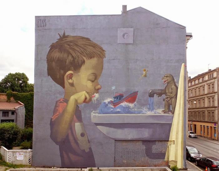 Street Art Utopia - por Etam Cru - In Oslo, Norway