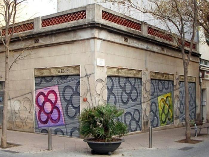 Graffiti de la Barcelona modernista