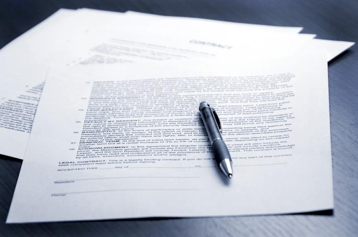 Carta de embargo para el inquilino