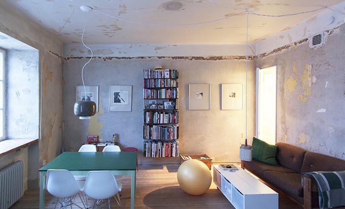 Piso de Estocolmo reformado por Karin Matz