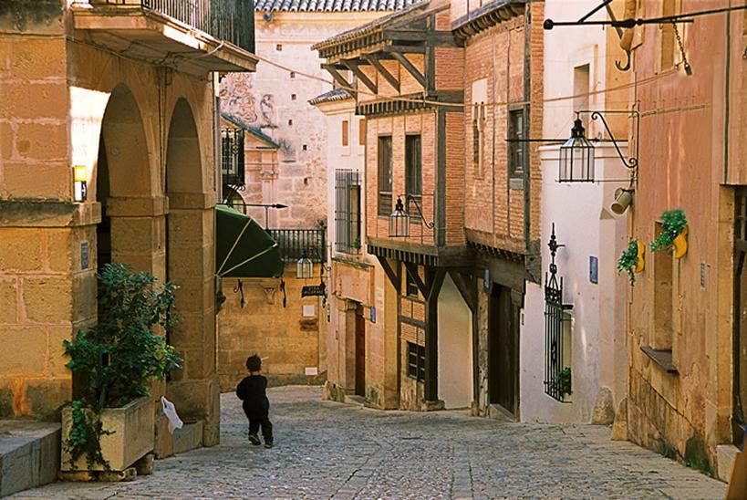 Una calle de Palma de Mallorca - Fotografía: Tony Brindley