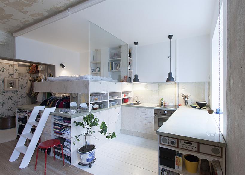 Reforma piso en Estocolmo por Karin Matz