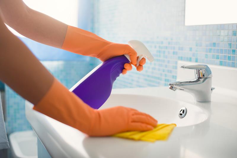 La limpieza en pisos compartidos