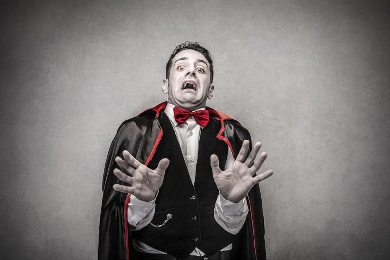 El más sangriento de Halloween, el clásico disfraz de Drácula