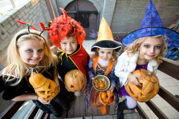 Los niños son los principales protagonistas de Halloween