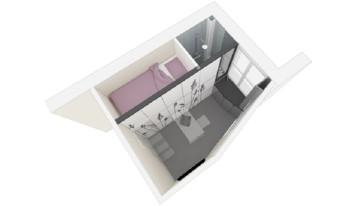Un apartamento de 8 metros cuadrados en París