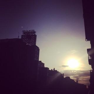 Hoy no podía haber amanecido mejor... Amaneció #viernes ¡Buenos días a todos!