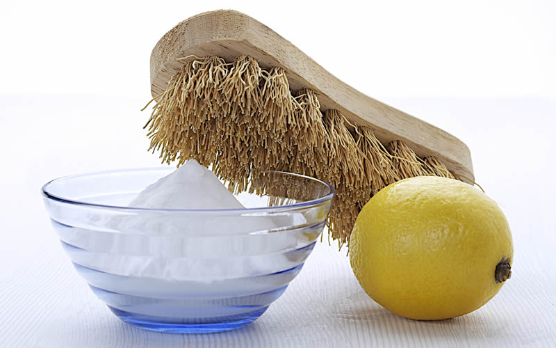 limón y bicarbonato