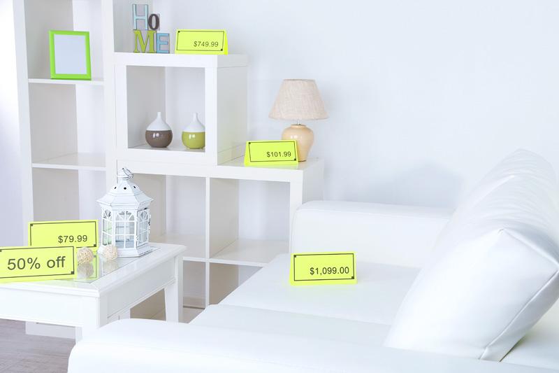 Vender los muebles de habitación de alquiler