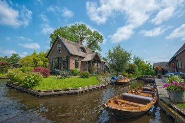 Giethoorn, un pueblo encantador