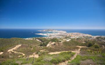 vista aérea de Ceuta
