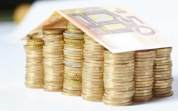 casa con dinero
