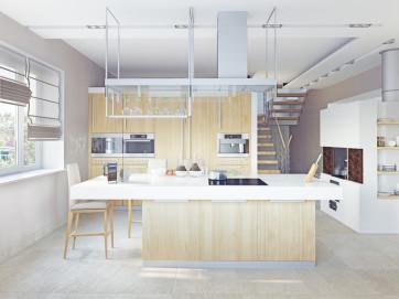 Cocina en buen estado para alquilar vivienda