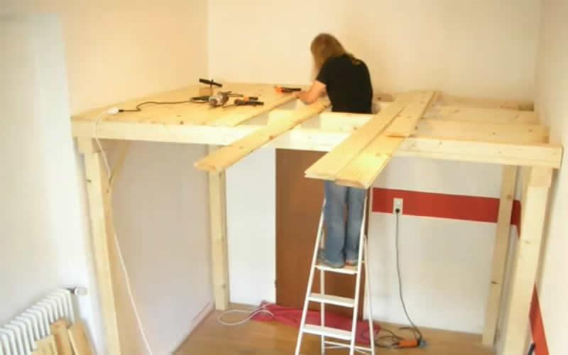 Altillos construye tu espacio extra en casa - Construir un altillo ...