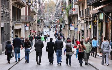 Calle Ferran en Barcelona
