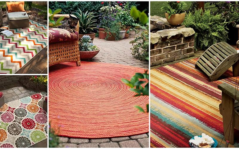Viste tu balcón, terraza o jardín con una alfombra de exterior - Enclavedeco.com