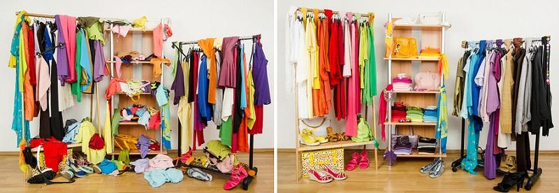 ¿Quieres tener éxito en la vida? Empieza ordenando tu armario