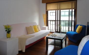 salón con Home Staging