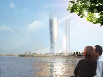 El primer rascacielo que no produce sombra