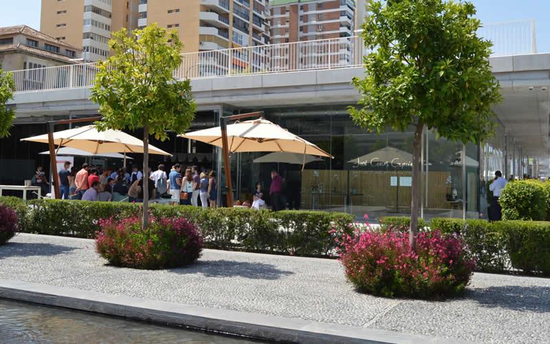 Terraza del restaurante de José Carlos García