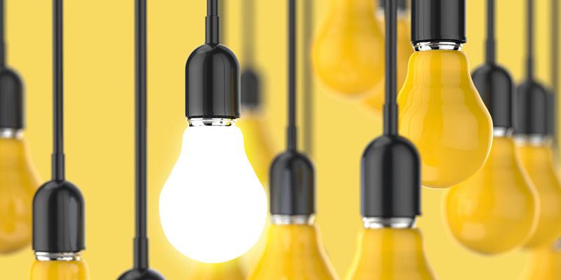 bombillas con ideas