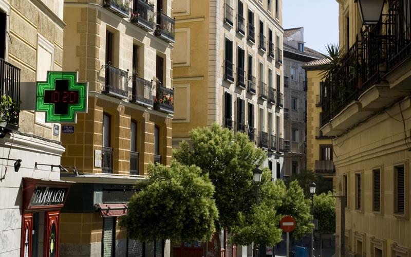 Lavapies en Madrid