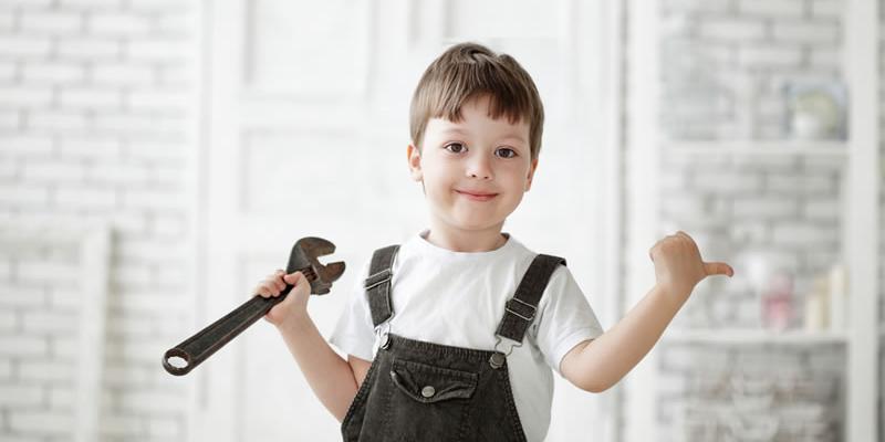niño en reparaciones pisos en alquiler