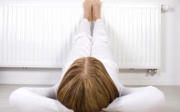 calefacción en piso en alquiler