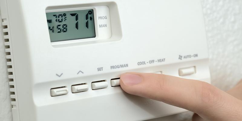 controlando la calefacción en piso en alquiler