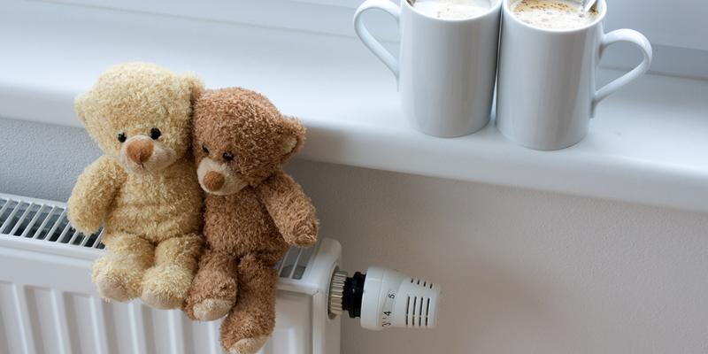 radiador con calefacción en piso en alquiler