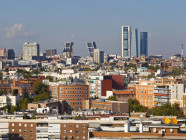Madrid con las Torres Kio