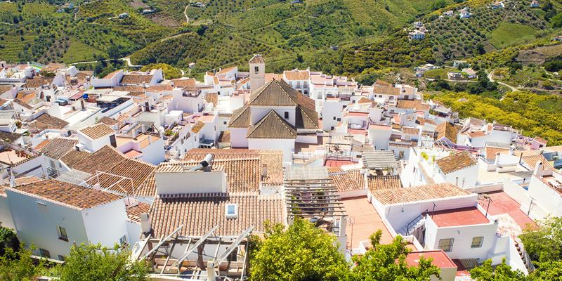 Pueblo en España