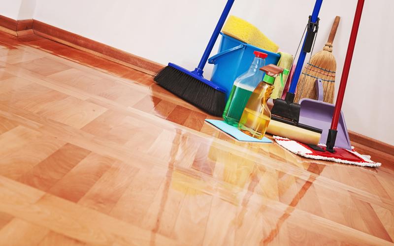 limpieza en piso en alquiler