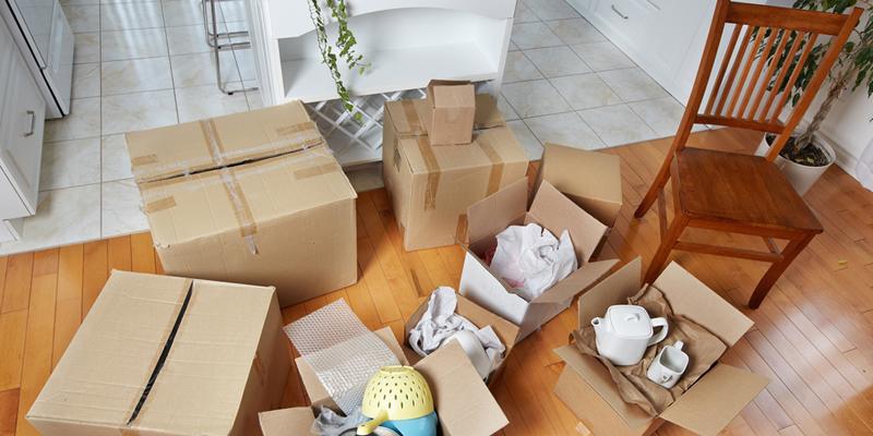 mudanza a piso en alquiler