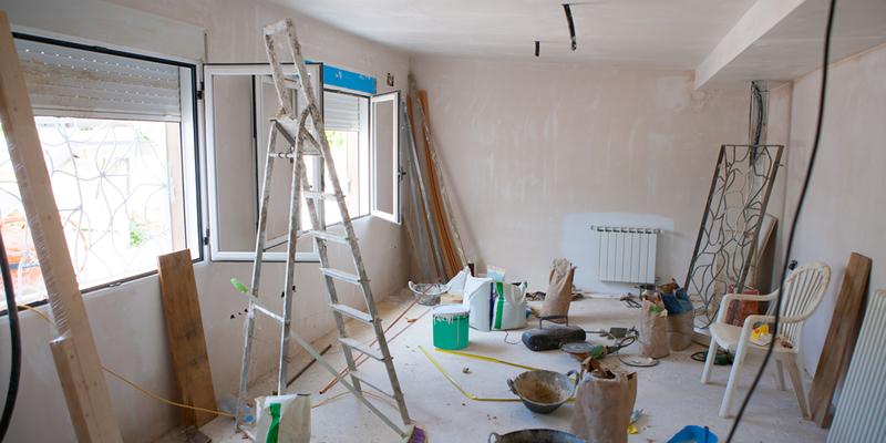 Reformas en piso en alquiler